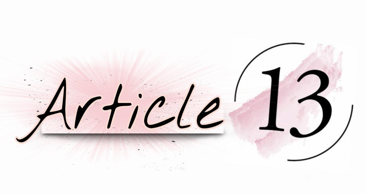 Article Thirteen