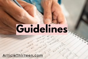 write for us food guidelines